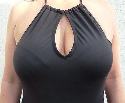 size 40 3a5d5 bb173 HIGH NECK DAMEN Badeanzug Neckholder Sexy Ausschnitt Einteiler Bademode  36-38-40