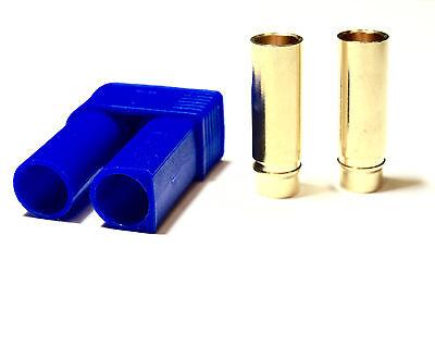 EC5 Stecker Buchse 1 Paar 2 Stück 5mm Hochstromstecker Goldstecker 120A Plug RC