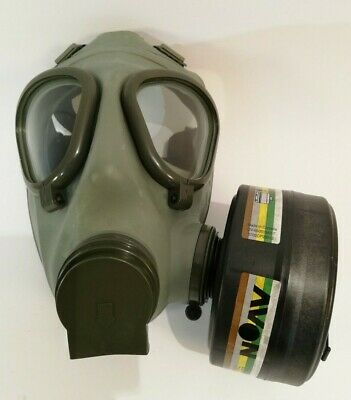 Serbian /Yugoslavian NBC protective Gas Mask M2+40mm Filter + Bag Complete Kit 12