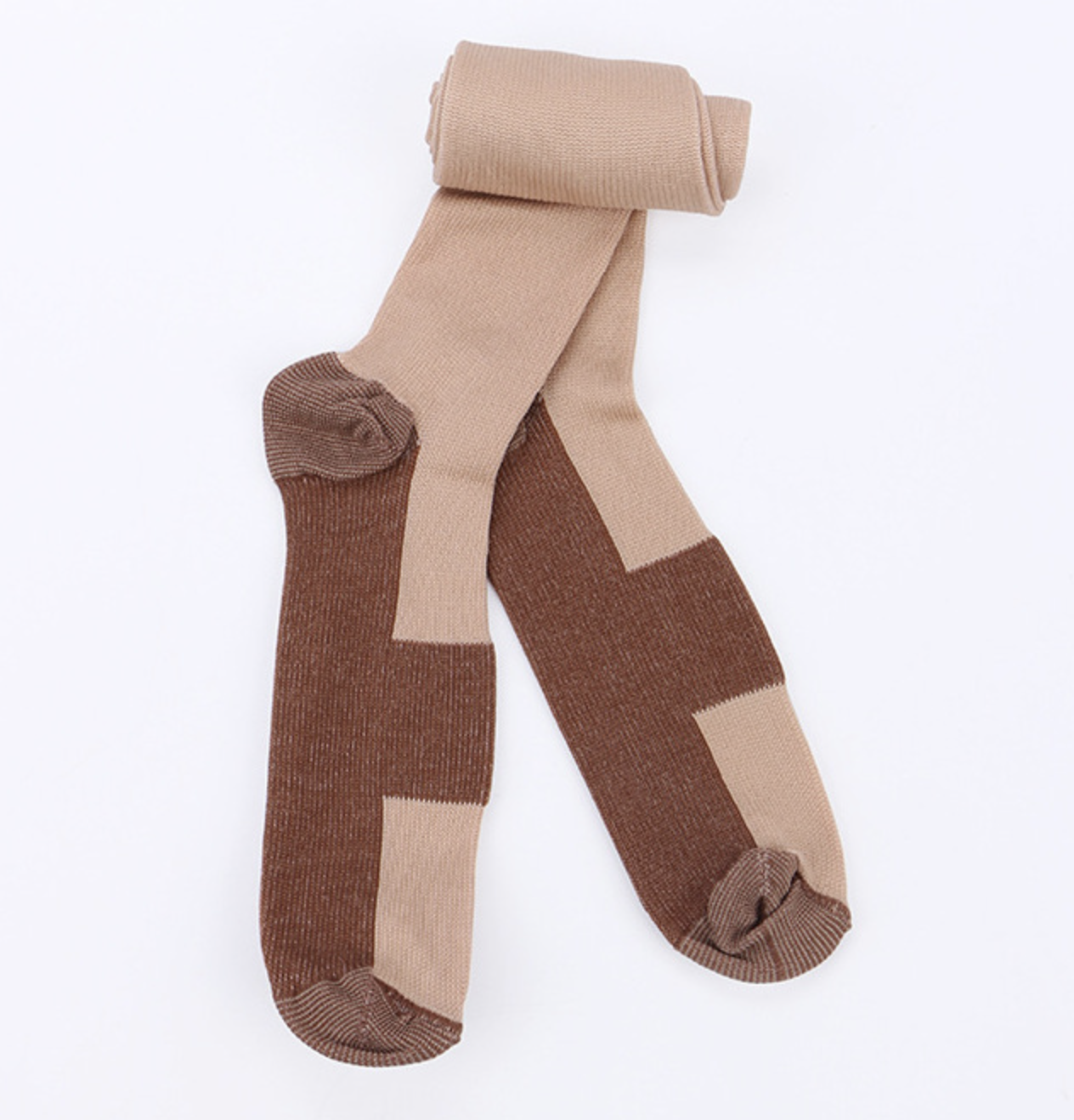 Copper Compression Stockings 20-30mmHg Support Socks Miracle Calf Men's Women's 7