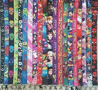 Pick One! Disney World Lanyard For Pin Trading! Mickey Minnie Nemo Marvel B3G1 3