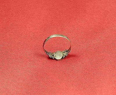 Nice Silver Finger Ring From the 19. Century 3