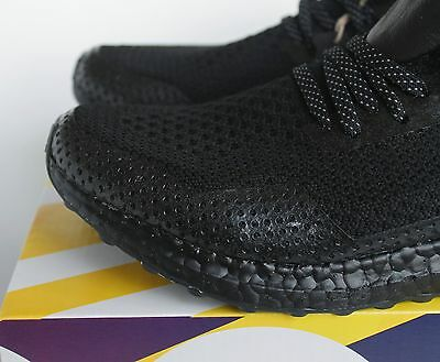 b1cc38e0eb63c ... Adidas x Haven Uncaged Ultra Boost Triple Black Leather BY2638 UK 5 7 8  US New