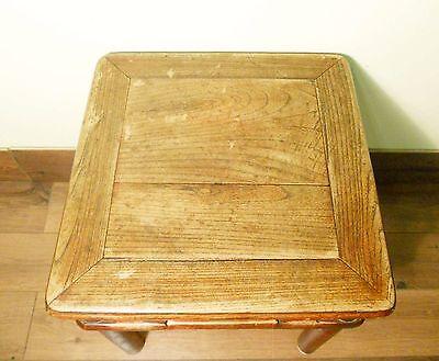 Antique Chinese Ming Meditation Bench (5791), Circa 1800-1849 9