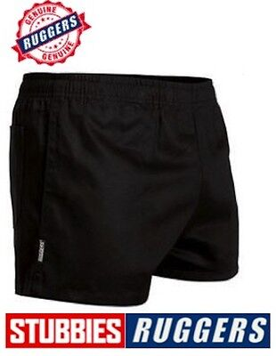 *genuine* Stubbies Ruggers Elastic Waist Drill Mens Work Shorts - Se2060 3