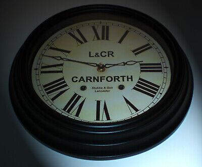 Lancaster and Carlisle Railway Styled Waiting Room Clock, Carnforth Station 3