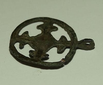 "Superb Viking  pendant "" Cross in a circle"". Kievan Rus. Viking. c 10--11 AD 8"