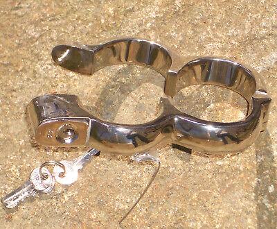 Fußschellen boundshop de anklecuff KUB KB 926 Edelstahl handcuff handschellen 5