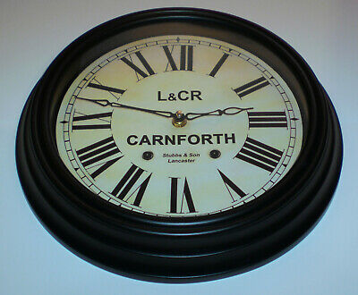 Lancaster and Carlisle Railway Styled Waiting Room Clock, Carnforth Station 2