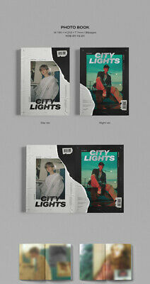EXO BAEKHYUN CITY LIGHTS 1st Mini Album CD+POSTER+PBook+Lyric+Card+F.Poster+GIFT 8