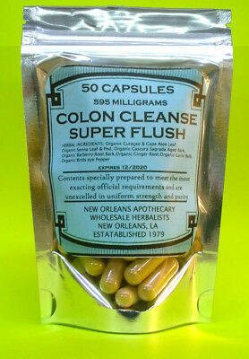 Colon Cleanse*Super Flush**All Organic Herbs**Flush Pounds**Lose Weight** 2