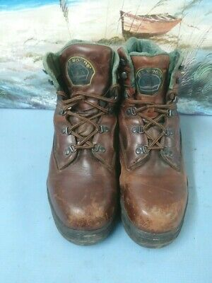 8094c332924 ELK WOODS THINSULATE 79854 Mens Brown Leather Hiking/Trail Boots Size 12 D