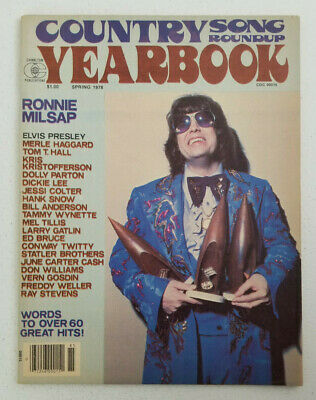 Country Song Roundup Yearbook Magazine 1978 - Ronnie Milsap - Elvis Presley 2