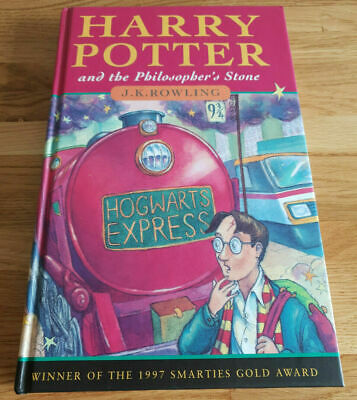 Harry Potter and the Philosopher's Stone book Rare 1st First Edition J K Rowling 3