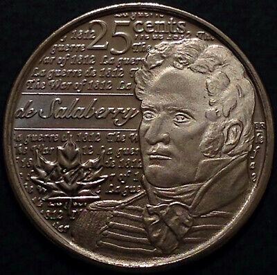 Canada 2012 / 2013 War of 1812 8 Commemorative 25 Cent Quarter Coin Set, UNC 5