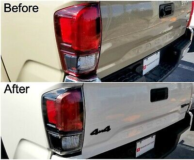 FITS TOYOTA TACOMA 2016-2020 TRD PRO TAILLIGHTS TAIL LIGHTS REAR LAMPS PAIR