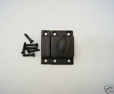 Cabinet Latch with Oil Rubbed Bronze Finish 2