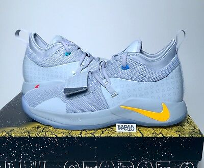 best sneakers 59dee 147fe NIKE PG 2.5 PlayStation Paul George PS4 Classic Wolf Grey Mens & Kids GS  Gray