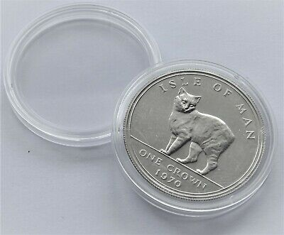 Coin Capsules Cases 39mm [ £5,CROWN,1oz silver ] 10,20,50,100 capsules Plastic 4