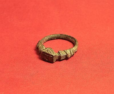 Fine Medieval Rooster Seal Ring. 14. Century, Finger Ring 6