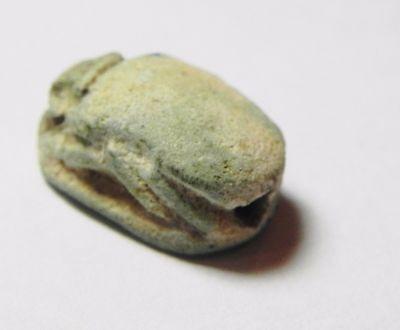 Zurqieh -Af615-  Ancient Egypt, New Kingdom. Stone Scarab 1400 B.c. 4