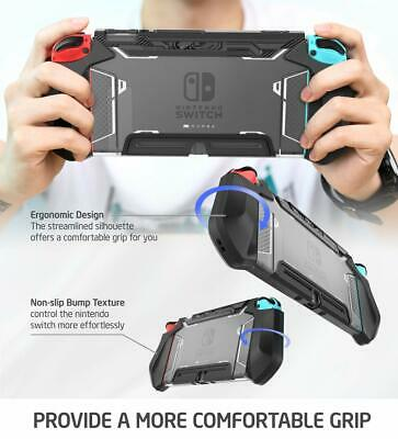 For Nintendo Switch Joy-Con Controller Mumba Dockable Case Grip Protective Cover 6