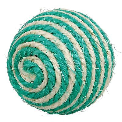 Sisal Cat Scratching Ball Toy with Rattle 6cm 3