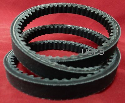 BX31 Belt BX 31 Cogged V Belt, 5/8 x 34 Belt Outside Diameter 6
