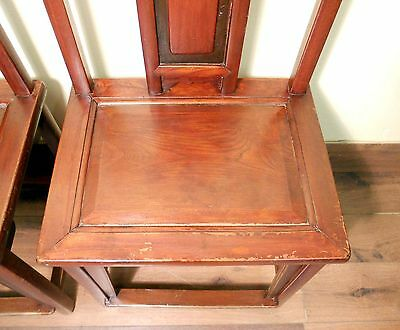 Antique Chinese Ming Chairs (5435) (Pair), Zelkova Wood, Circa 1800-1949 7