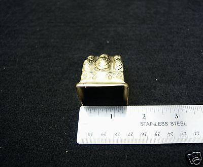 Claw Feet Stamped Brass Table Leg Medium