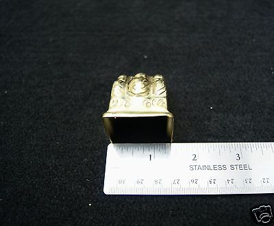 Claw Feet Stamped Brass Table Leg 3