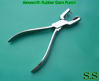 5 Ainsworth Rubber Dam Punch Dental Surgical Instruments 2
