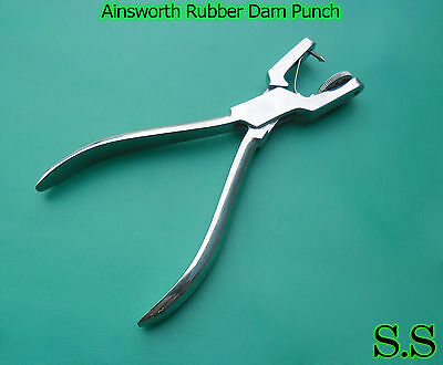 5 Ainsworth Rubber Dam Punch Dental Surgical Instruments 3