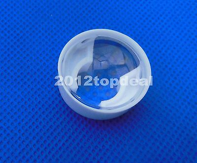 10pc 90°High Power LED lens 23mm convex lens pmma led lens with black holder DIY