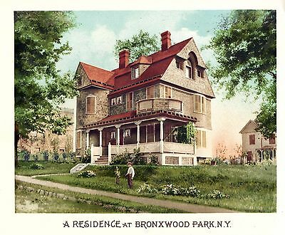 Bronxwood Park, N. Y. - Scientific American Architects and Builders Edition-1894 2