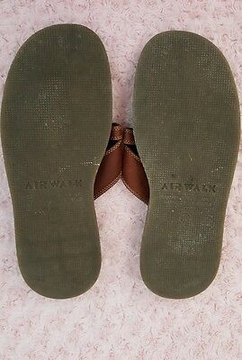 f65932915 ... Airwalk Sandals Men s Flip Flops Leather Brown Size 10 Very good used  condition 7