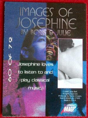 IMAGES OF JOSEPHINE - Individual Card #60 - Comic Images - Fantasy Art - 1997 2