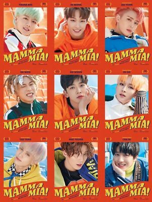 SF9-[Mamma Mia!] 4th Mini Album Special Edition CD+Booklet+PhotoCard+Mark+Gift 3