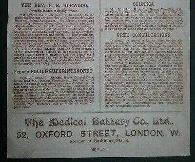 Victorian Electropathic Belts Leaflet ******(See Description For Details)****** 5