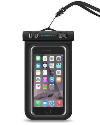 Waterproof Case Underwater Phone Pouch Dry Bag Cover Universal ETEKNIC 2