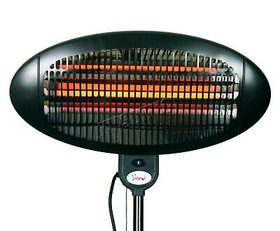 WestWood Standing Patio Heater – Outdoor Garden Electric Heating Quartz - 2KW 9