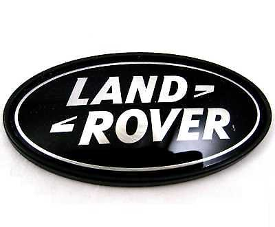 Land Rover Discovery black+Silver Oval rear badge upgrade 1 2 3 LR3 logo genuine 3
