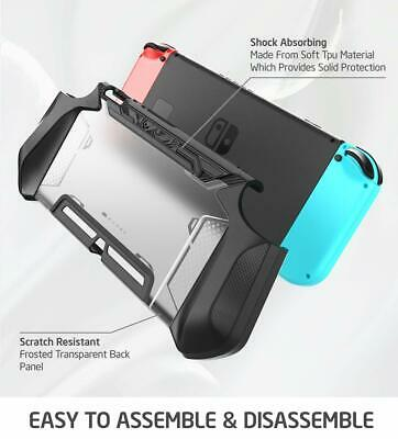 For Nintendo Switch Joy-Con Controller Mumba Dockable Case Grip Protective Cover 3