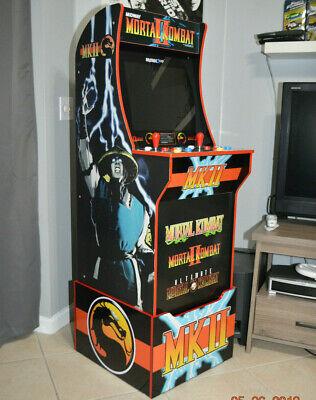 Arcade1up Cabinet Riser Graphics - Mortal Kombat 2 II Graphic Sticker Decal Set 11