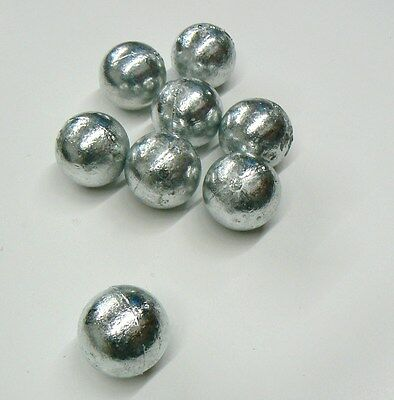 10 Pounds Zinc Anodes 99.9% Pure Anode For Metals & Alloys 10 Round Balls 5