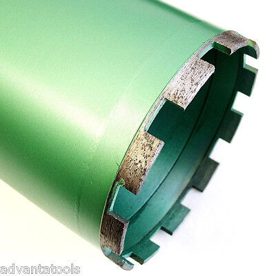 "5"" Wet Diamond Core Drill Bit for Concrete - Premium Green Series"
