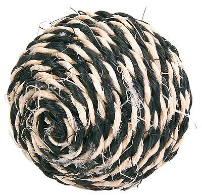 Sisal Cat Scratching Ball Toy with Rattle 6cm 5