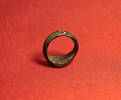 Medieval Knight's Seal Ring 12. Century