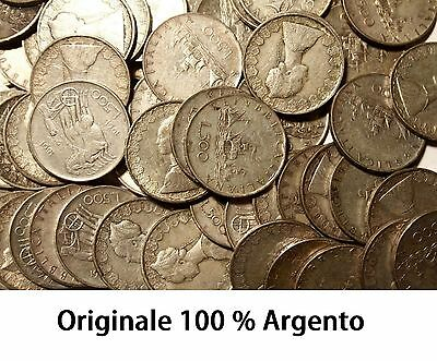 500 lire in Argento Caravelle '58 '59 '60 ( tutte miste ) 2