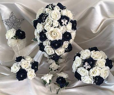 Fiori Matrimonio Mazzo di fiori, Perle & Strass Spose/Damigella/Asole 10